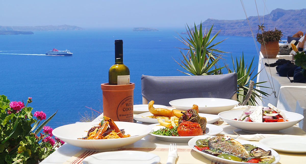 food tour in Santorini