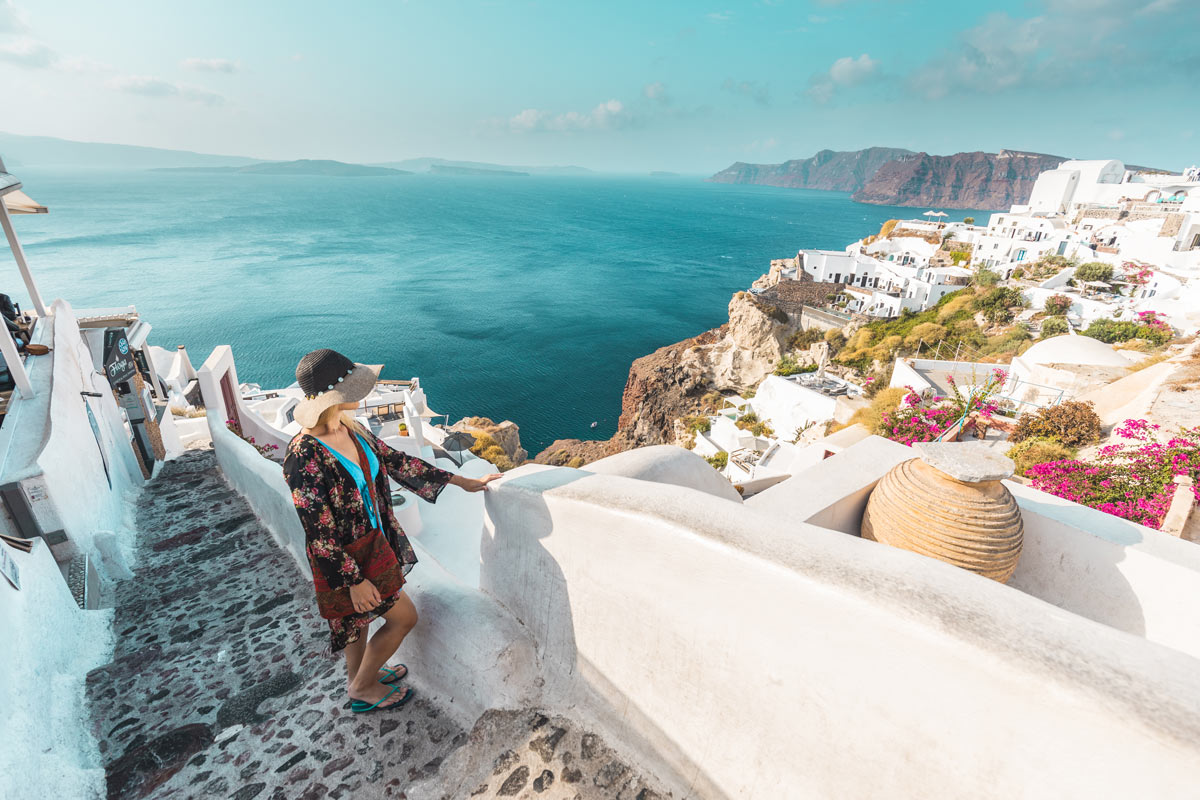private tour on Santorini