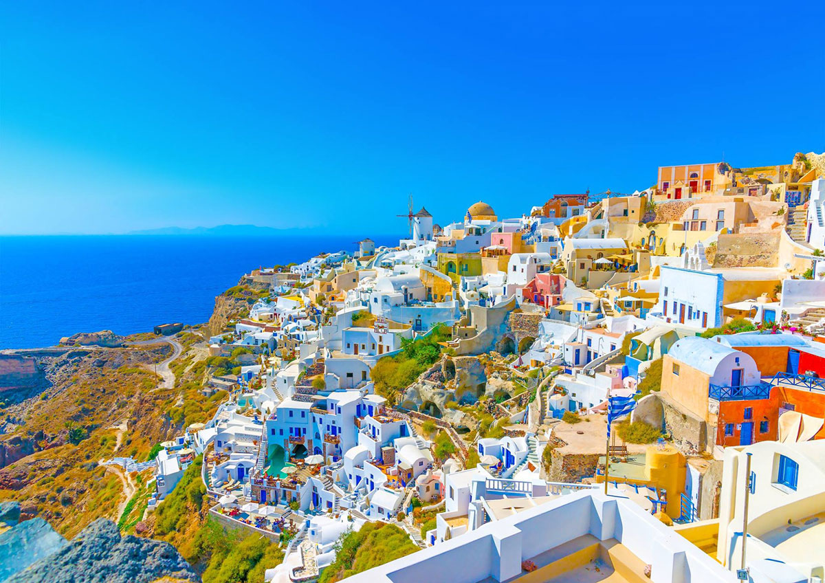 Santorini beautiful view