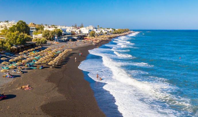 Santorini's Top 10 Beaches 2021